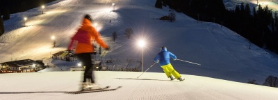 Night-skiing in the SkiWelt Söll