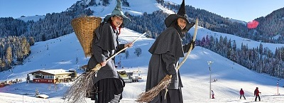 Winter - witches program in the SkiWelt