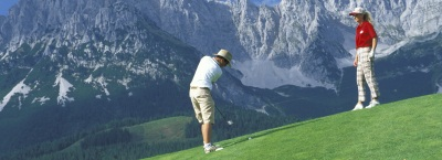 The Wilder Kaiser golf course