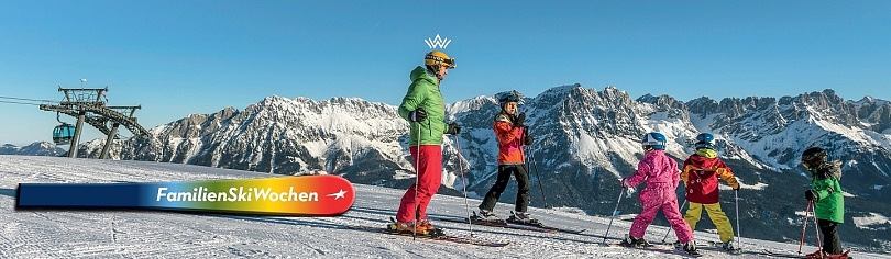 Family Ski weeks in the SkiWelt Wilder Kaiser