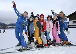 All ski schools in the region provide a quality service