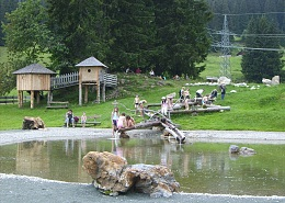 The Filzalmsee - a paradise for families