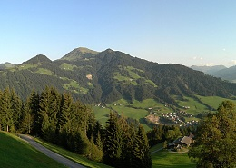 View of the Hohe Salve