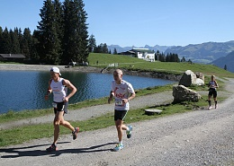 running event in Söll in the Kitzbühel Alps
